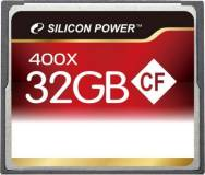 Подробнее о Silicon Power Compact Flash 32Gb 400x SP032GBCFC400V10