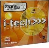 Подробнее о I-Tech CD-R 700Mb 52x LongLife Slim 99486