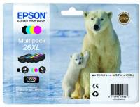 Подробнее о Epson 26XL XP600/ 605/ 700 Bundle (C, M, Y, B) C13T26364010