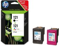 Подробнее о HP No.121 Black/ Tri-color CN637HE