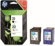 Подробнее о HP No.21/ 22 Black/ Tri-color Combo Pack SD367AE