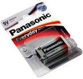 Подробнее о Panasonic EVERYDAY POWER 6LR61 BLI 1 ALKALINE 6LR61REE/1BR