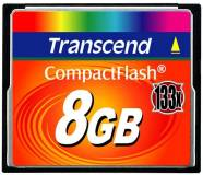 Подробнее о Transcend Ultra Speed CompactFlash 8GB 133x TS8GCF133