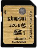 Подробнее о Kingston Ultimate SDHC 32GB SDA10/32GB
