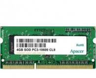 Подробнее о Apacer So-Dimm DDR3L 4Gb 1600MHz CL11 AS04GFA60CATBGJ