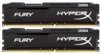 Подробнее о Kingston HyperX Fury Black DDR4 8Gb (2x4Gb) 2666MHz CL15 Kit HX426C15FBK2/8