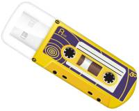 Подробнее о Verbatim MINI CASSETTE EDITION YELLOW 16Gb USB 2.0 49399
