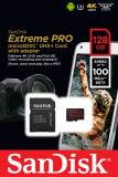 Подробнее о SanDisk Extreme Pro 128GB Micro SD Card w/ Adapter SDSQXCG-128G-GN6MA