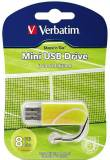 Подробнее о Verbatim Store'N'Go Mini Tennis 8Gb USB 2.0 98511