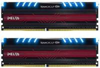 Подробнее о Team Delta Blue LED DDR4 32Gb (2x16Gb) 3000MHz CL16 Kit TDTBD432G3000HC16CDC01