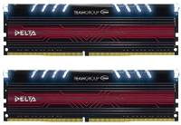 Подробнее о Team Delta White LED DDR4 32Gb (2x16Gb) 2400MHz CL15 Kit TDTWD432G2400HC15BDC01