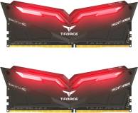 Подробнее о Team T-Force Night Hawk Red LED DDR4 32Gb (2x16Gb) 3000MHz CL16 Kit THRD432G3000HC16CDC01