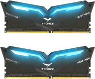 Подробнее о Team T-Force Night Hawk Blue LED DDR4 32Gb (2x16Gb) 3000MHz CL16 Kit THBD432G3000HC16CDC01