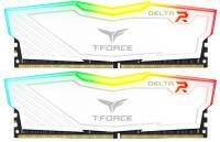 Подробнее о Team T-Force Delta RGB White DDR4 16Gb (2x8Gb) 2666MHz CL15 Kit TF4D416G2666HC15BDC01