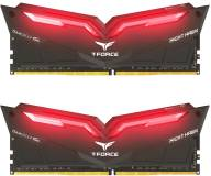 Подробнее о Team T-Force Night Hawk Red LED DDR4 16Gb (2x8Gb) 3000MHz CL16 Kit THRD416G3000HC16CDC01