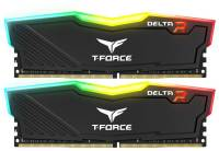 Подробнее о Team T-Force Delta RGB Black DDR4 16Gb (2x8Gb) 2400MHz CL15 Kit TF3D416G2400HC15BDC01