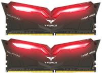 Подробнее о Team T-Force Night Hawk Red LED DDR4 16Gb (2x8Gb) 3200MHz CL16 Kit THRD416G3200HC16CDC01