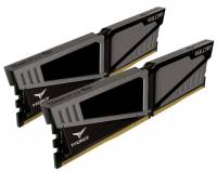 Подробнее о Team T-Force Vulcan Gray DDR4 16Gb (2x8Gb) 2400MHz CL14 Kit TLGD416G2400HC14DC01
