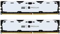 Подробнее о Goodram Iridium White DDR4 8GB (2x4GB) 2400MHz CL15 IR-W2400D464L15S/8GDC