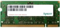 Подробнее о Apacer So-Dimm DDR3 4Gb 1333MHz CL9 DS.04G2J.K9M