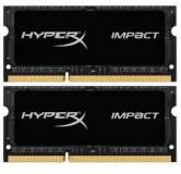 Подробнее о Kingston So-Dimm HyperX Impact Black DDR3 16Gb (2x8Gb) 2133MHz CL11 Kit HX321LS11IB2K2/16