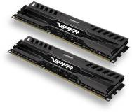 Подробнее о Patriot Viper 3 Black DDR3 16Gb (2x8Gb) 1866MHz CL10 Kit PV316G186C0K