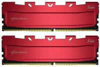 Подробнее о Exceleram Red Kudos DDR4 16Gb (2x8Gb) 2800MHz CL17 Kit EKRED4162817AD