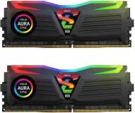 Подробнее о Geil Super Luce Black RGB LED DDR4 16Gb (2x8Gb) 3200MHz CL16 Kit GLC416GB3200C16ADC