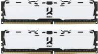 Подробнее о Goodram IRDM X White DDR4 16Gb (2x8Gb) 3000MHz CL16 Kit IR-XW3000D464L16S/16GDC