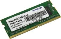 Подробнее о Patriot So-Dimm Signature Line DDR4 4Gb 2400MHz CL17 PSD44G240041S