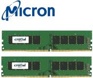 Подробнее о Crucial DDR4 16Gb (2x8Gb) 2666MHz CL19 Kit CT2K8G4DFS8266