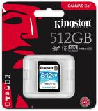 Подробнее о Kingston Canvas Go! SDXC 512Gb V30 I U3 Class 10 SDG/512GB