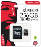 Подробнее о Kingston Canvas Select microSDXC 256Gb C10 UHS-I R80MB/s + SD адаптер SDCS/256GB