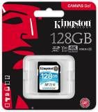 Подробнее о Kingston Canvas Go! SDXC 128GB C10 UHS-I U3 R90/W45MB/s SDG/128GB