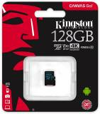 Подробнее о Kingston Canvas Go microSDXC 128GB C10 UHS-I U3 R90/W45MB/s SDCG2/128GBSP