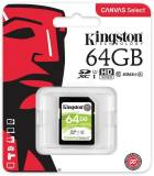 Подробнее о Kingston Canvas Select SDXC 64Gb C10 UHS-I R80MB/s SDS/64GB