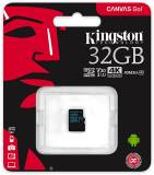 Подробнее о Kingston Canvas Go 32GB microSDHC C10 UHS-I U3 R90/W45MB/s SDCG2/32GBSP