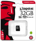 Подробнее о Kingston Canvas Select microSDHC 32GB C10 UHS-I R80MB/s SDCS/32GBSP