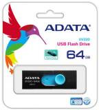 Подробнее о A-Data UV320 64GB Black/Blue USB 3.1 AUV320-64G-RBKBL