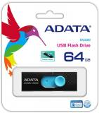 Подробнее о A-Data UV220 64GB BLACK/BLUE USB 2.0 AUV220-64G-RBKBL