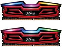 Подробнее о A-Data XPG Spectrix D40 Red DDR4 16Gb (2x8Gb) 2400MHz CL16 Kit AX4U240038G16-DRS
