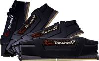 Подробнее о G.Skill Ripjaws V Black DDR4 64Gb (4x16Gb) 3200MHz CL16 Kit F4-3200C16Q-64GVK