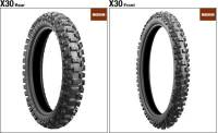 Подробнее о Bridgestone X30 Cross Medium 80/100 B21 51M