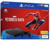 Подробнее о Sony Playstation 4 Slim (PS4 Slim) 1TB + Spider-Man