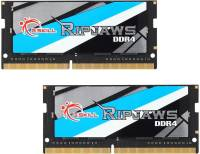 Подробнее о G.Skill So-Dimm Ripjaws DDR4 16GB (2x8GB) 2400MHz CL16 Kit F4-2400C16D-16GRS