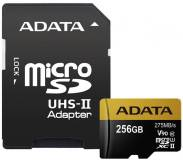 Подробнее о A-Data Premier ONE microSDXC 256GB UHS-II U3 + adapter AUSDX256GUII3CL10-CA1