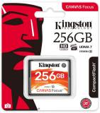 Подробнее о Kingston Canvas Focus Compact Flash 256GB UDMA7 CFF/256GB