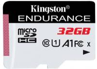Подробнее о Kingston High Endurance microSDHC 32GB C10 UHS-I SDCE/32GB