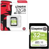 Подробнее о Kingston Canvas Select SDHC 32GB U1 C10 SDS/32GB