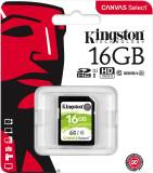 Подробнее о Kingston Canvas Select SDHC 16GB U1 C10 SDS/16GB